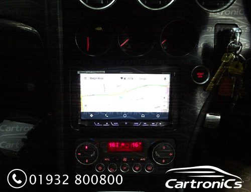 Alfa 159 Pioneer Auto Android System Upgrade and Install