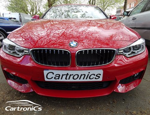 BMW 430i Audio Upgrade