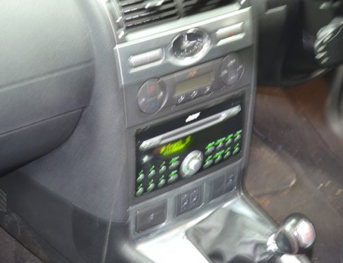 Ford Mondeo radio repair