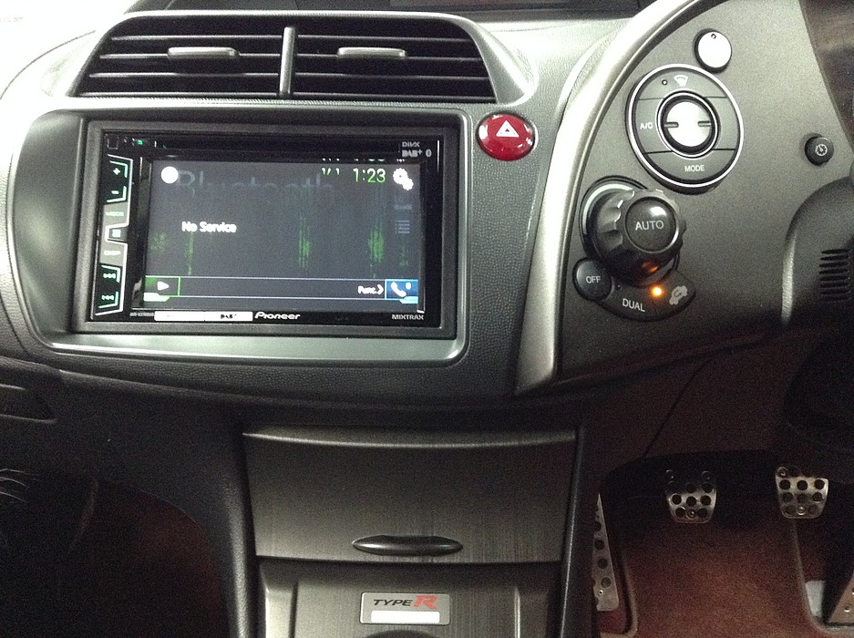 Honda Civic 8th Gen Pioneer Apple Carplay With Android Auto