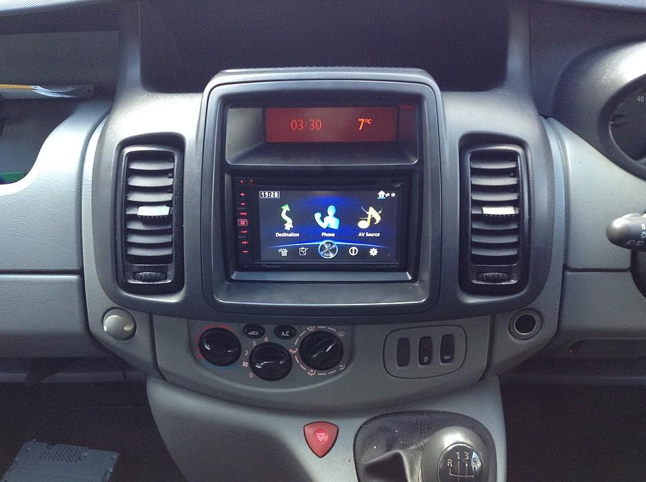 Vauxhall Vivaro Audio Upgrade