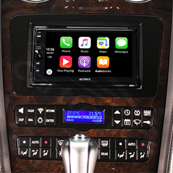 Bentley Replacement Head Unit Fitted with SONY XAVAX100