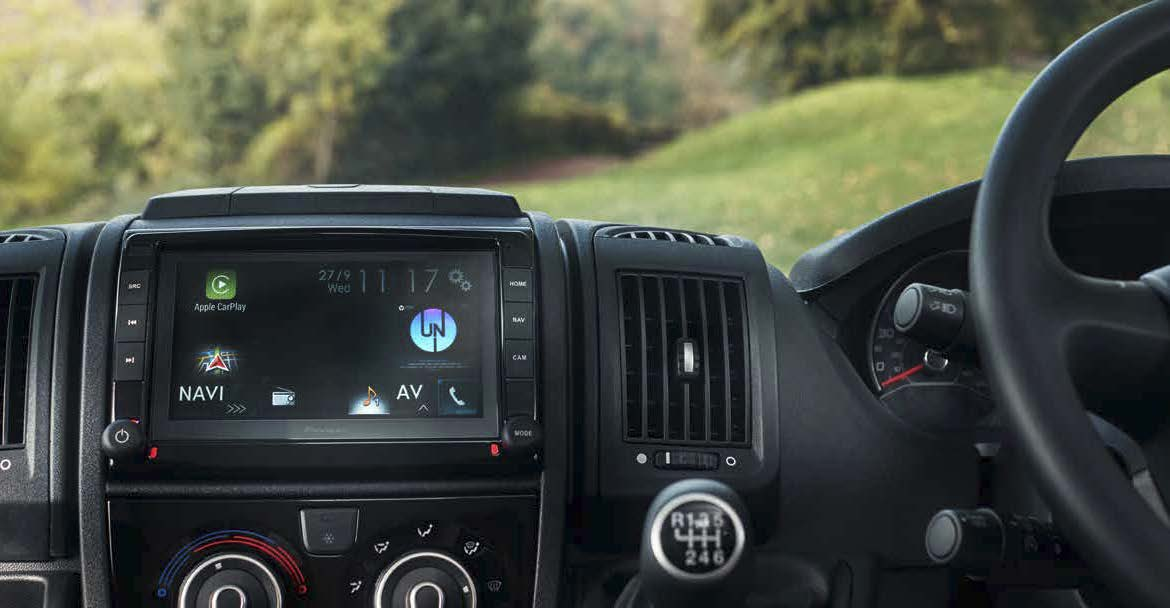 Click to learn more about Fiat Ducato Entertainment Upgrades